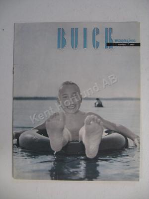 1957 Buick magazine august 1957