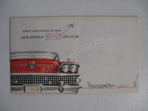 1958 Buick News and Views of the... broschyr X-3779