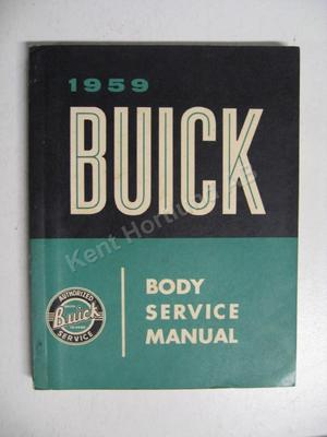 1959 Buick Body Service Manual