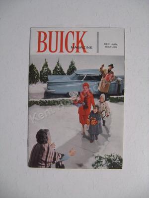 1958-1959 Buick  Magazine December - Jan 58.59