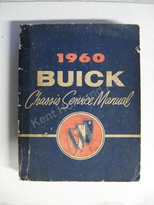 1960 Buick Chassis Service Manual original