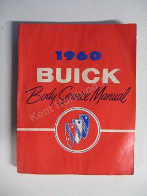 1960 Buick Body Service Manual