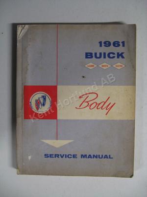 1961 Buick Invicta, Lesabre, Electra Body service manual