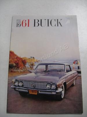 1961 Buick Full size  Lyxbroschyr