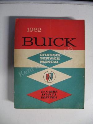 1962 Buick Lesabre, Invicta, Electra Chassis service manual