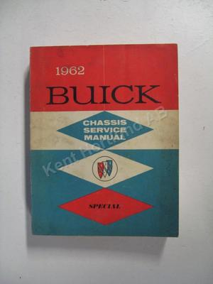1962 Buick Special & Skylark Chassis service manual