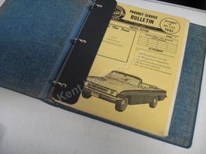 1961 Buick Product service Bulletins