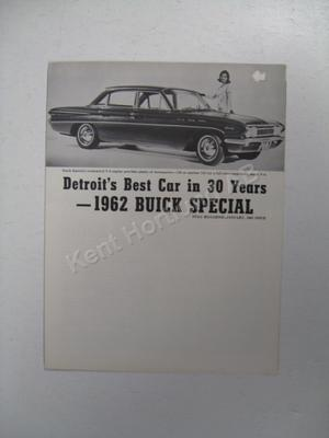 1962 Buick Special from magazine
