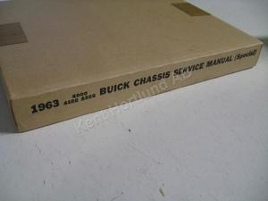 1963 Buick Special Chassis Service Manual