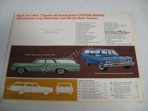 1965 Buick Station wagons Brochure