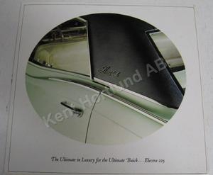 1967 Buick Electra 225 Broshyr