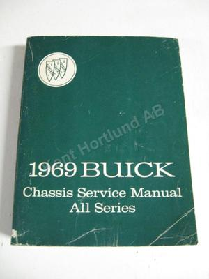 1969 Buick Chassis service manual