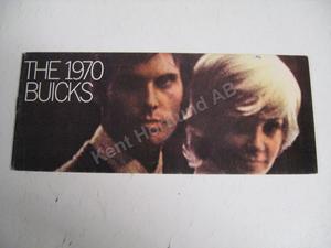 1970 Buick broschyr alla modeller