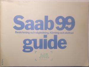 1976 SAAB 99 Guide 4:e utg.