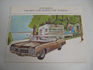 1970 Buick broschyr för drag