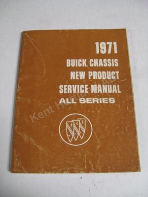 1971 Buick Chassis new product service manual