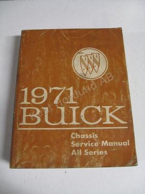 1971 Buick Chassis Service Manual