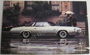 1973 Buick Century Regal Vykort