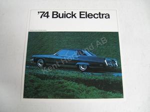 1974 Buick Electra Försäljningsbroschyr