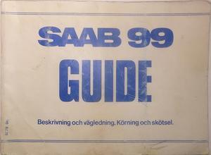 1978 SAAB 99 Guide 2:dra utg.