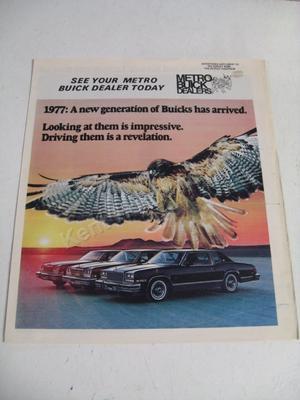 1977 Buick Försäljningsbroschyr