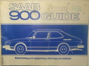 1979 SAAB 900 Guide 3:dje utg.