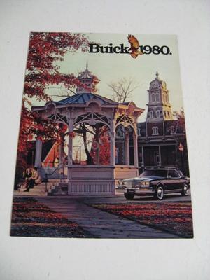 1980 Buick Försäljningsbroschyr