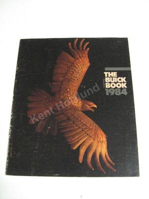 1984 Buick Försäljningsbroschyr