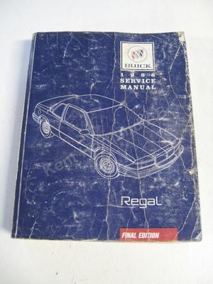 1988 Buick Regal Service Manual