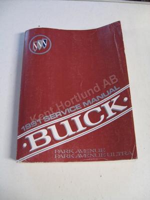 1991 Buick Park Avenenue, Park Avenenue Ultra Service Manual