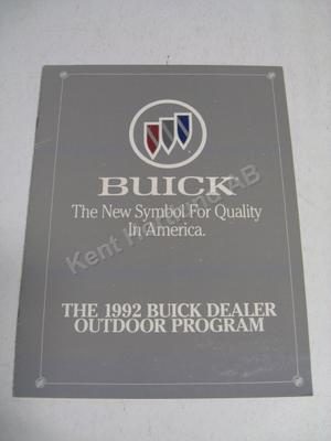 1992 Buick Försäljningsfolder