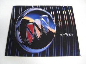 1992 Buick Lyxbroschyr