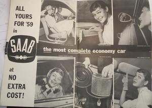 1959 SAAB broschyr