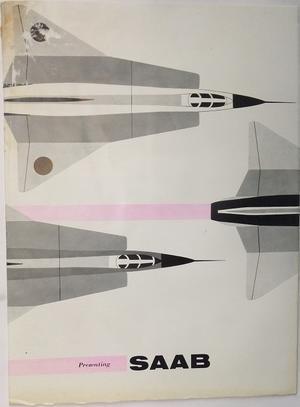 1960 SAAB broschyr