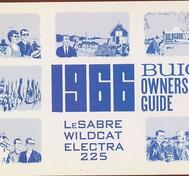 1966 Buick Lesabre Wildcat Electra 225 Owners Guide