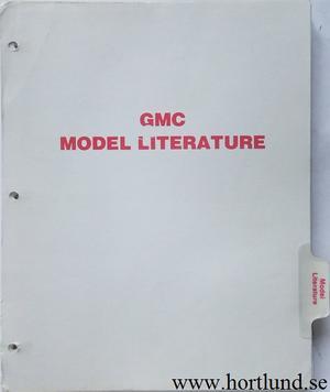1977 GMC Model Literature Sprint, Pickup, Jimmy, Suburban, Van