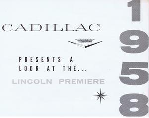1958 Cadillac - Lincoln Premiere jämförelse