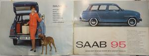 1961-62 SAAB 95 broschyr