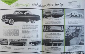 1954 Mercury Quick Facts.. broschyr