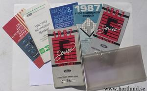 1987 Ford F 150-350 Owner's Manual