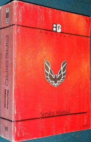 1988 Pontiac Firebird Service Manual