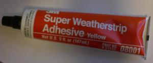 3M® Lim för Gummilister gul 3M® Super