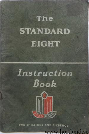 1954-55 Standard Eight Instruction Book