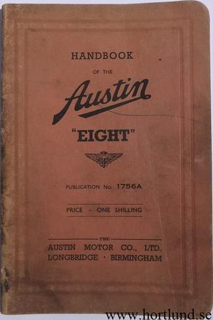 1939 Austin Eight Handbook