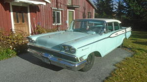 1959 Mercury Monterey 4-Door Sedan