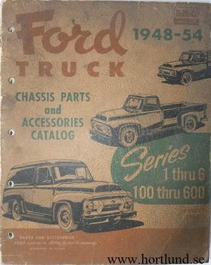 1948 - 1954 Ford Truck Chassis Parts and Accessories Catalog