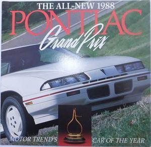 1988 Pontiac Grand Prix broschyr