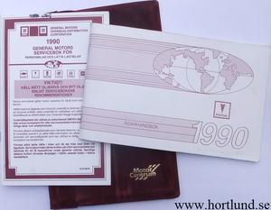1990 Pontiac alla modeller ägarhandbok svensk