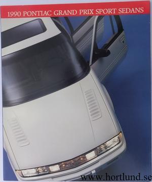 1990 Pontiac Grand Prix Sport Sedan broschyr