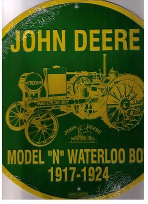 John Deere  Model N Waterloo Boy 1917 - 1924